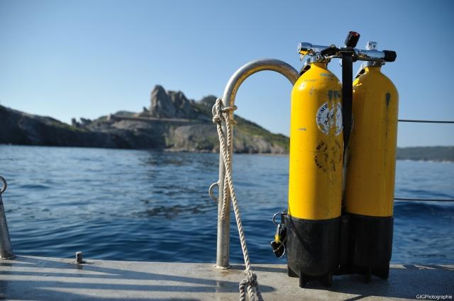 plongée en bouteille à Marseille